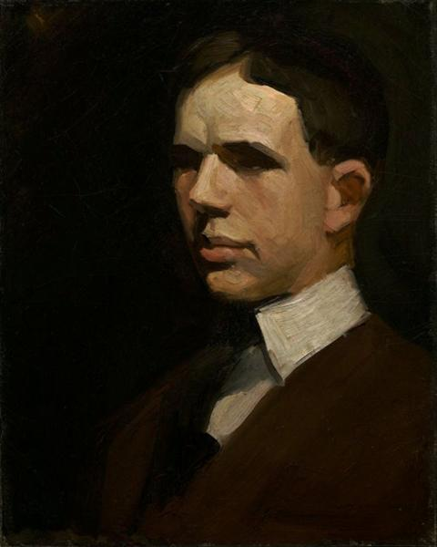 Self-Portrait, 1903 - Edward Hopper