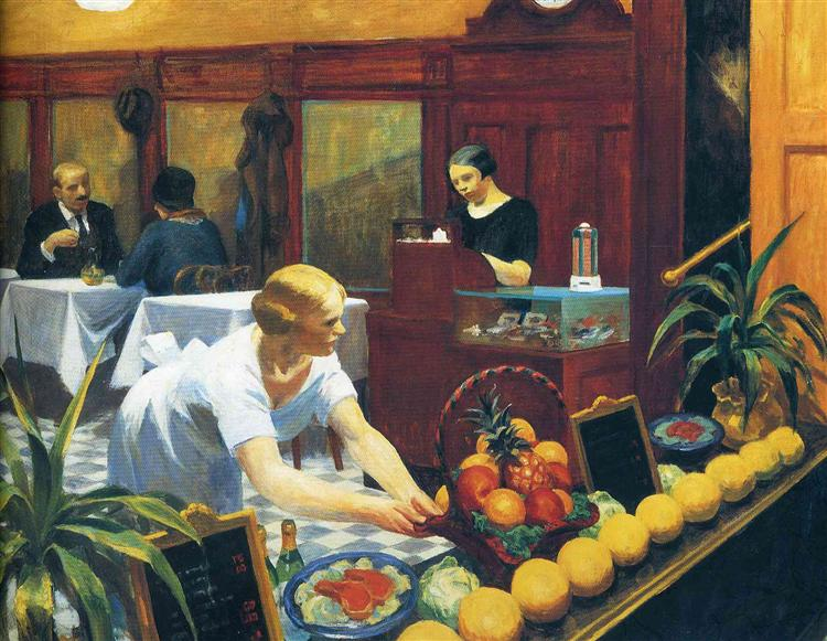 Tables for Ladies, 1930 - Edward Hopper