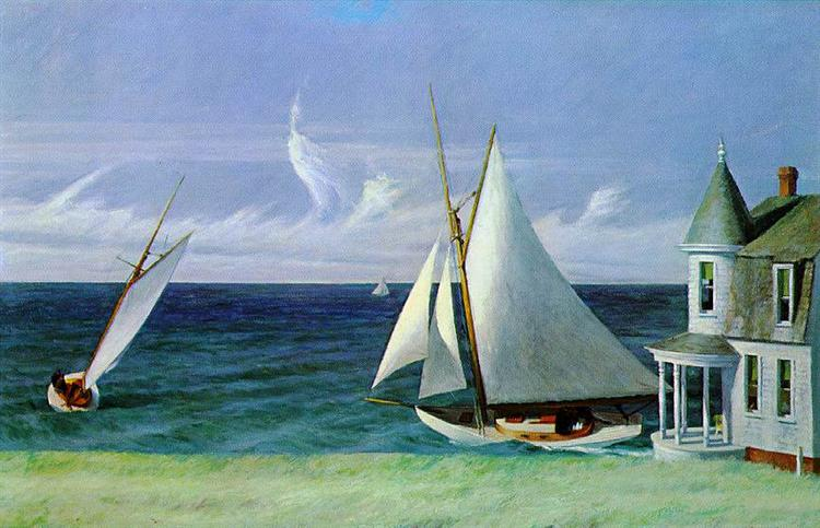 The Lee Shore, 1941 - Edward Hopper