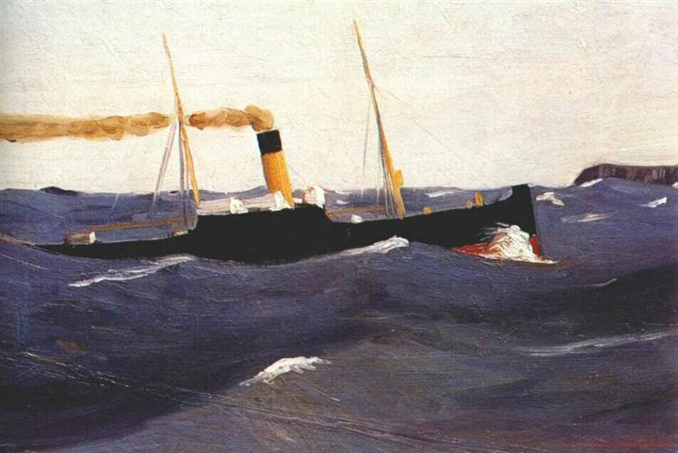 Tramp Steamer, 1908 - Edward Hopper
