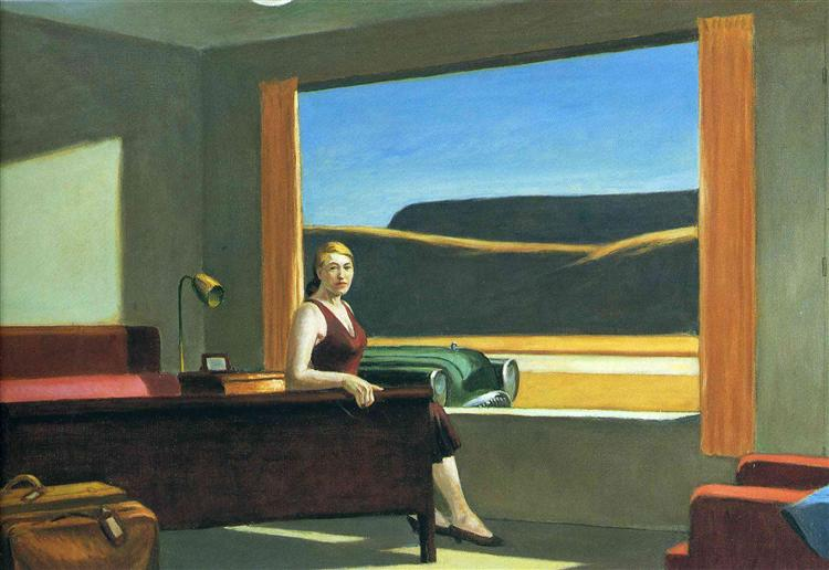 Western Motel, 1957 - Edward Hopper