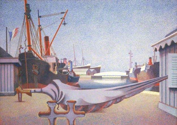 Le Havre, France, 1939 - Edward Wadsworth