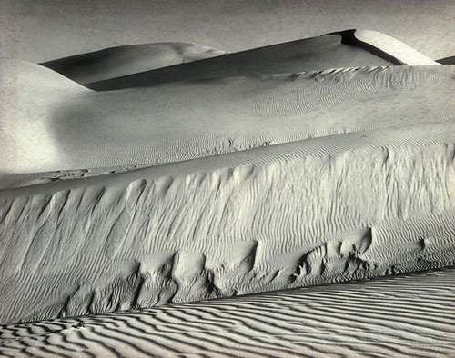 White Dunes, Oceano, 1936 - Edward Weston