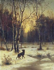 Winter Landscape - Ефим Волков