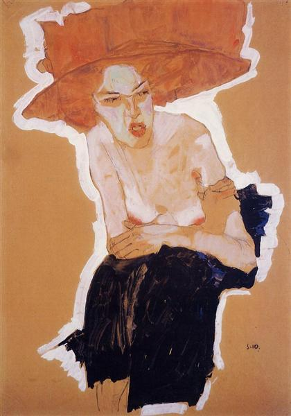 The Scornful Woman, 1910 - Egon Schiele