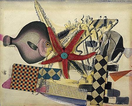 Fish Circus, 1939 - Eileen Agar
