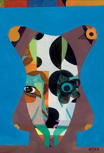 Floral Eyes, 1966 - Eileen Agar