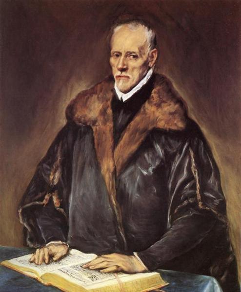 A Prelate, c.1601 - El Greco