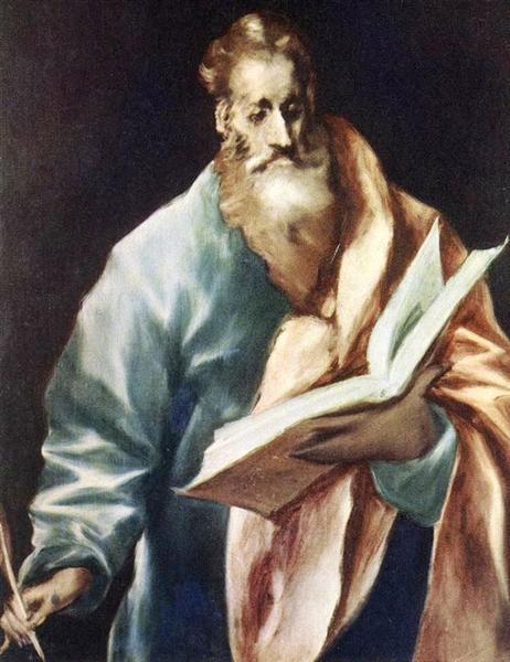 Apostle St. Matthew, c.1612 - El Greco