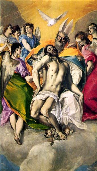 Ascension of Jesus, 1577 - El Greco