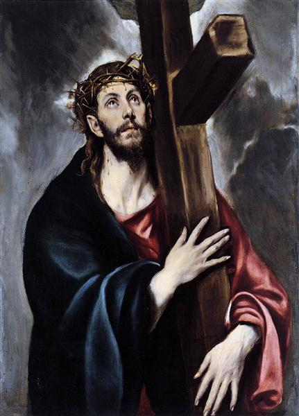 Christ carrying the cross, c.1578 - El Greco