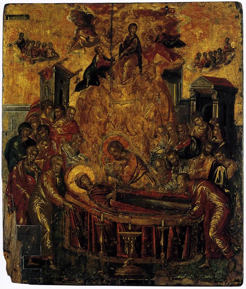 dormition of the virgin el greco wikiartorg