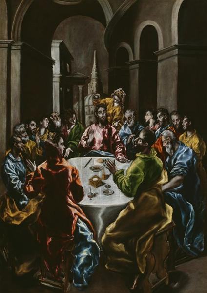 Feast in the House of Simon, c.1610 - El Greco