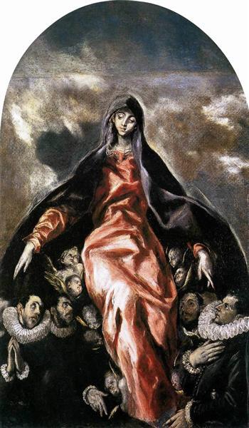 Madonna of Charity, c.1604 - El Greco