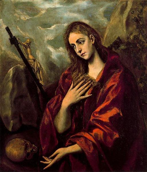 Penitent Magdalene, c.1590 - El Greco