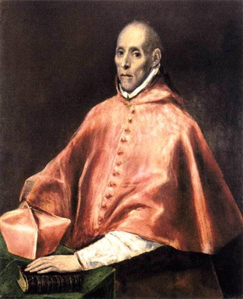Portrait of Cardinal Tavera, c.1610 - El Greco