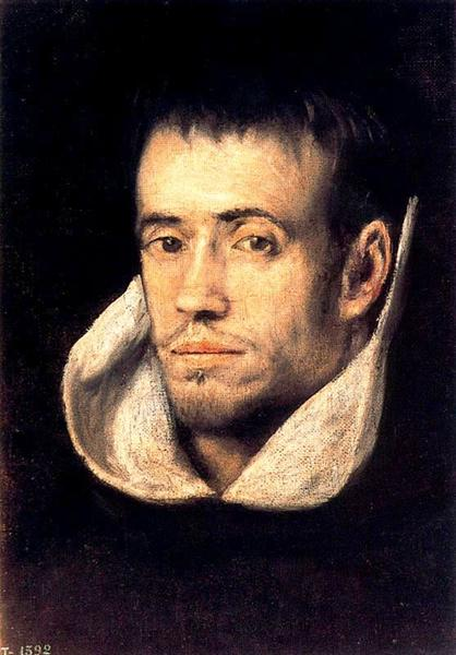 Portrait of Dominican Friar, c.1605 - El Greco