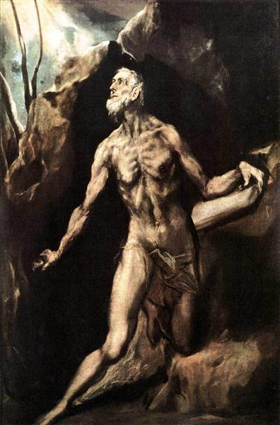 St. Jerome Penitent, c.1614 - El Greco