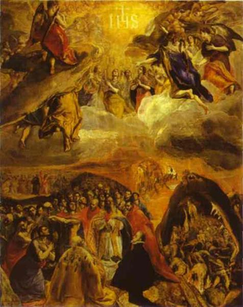 The Dream of Philip II, 1579 - El Greco