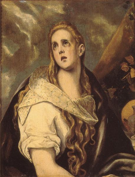 The Penitent Magdalene, 1578 - El Greco
