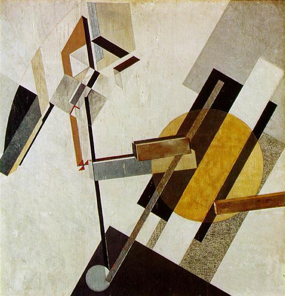 Proun 19D, 1922 - El Lissitzky