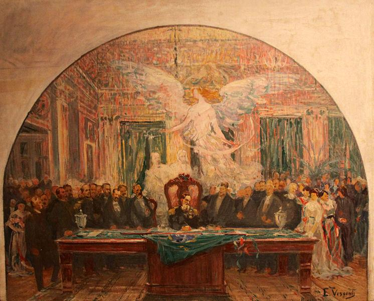 Latin American Presidental Inauguration, Brazil, 1891, 1925 - Eliseu Visconti