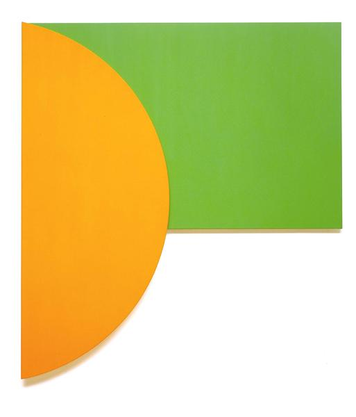 Orange Relief with Green, 1991 - Ellsworth Kelly