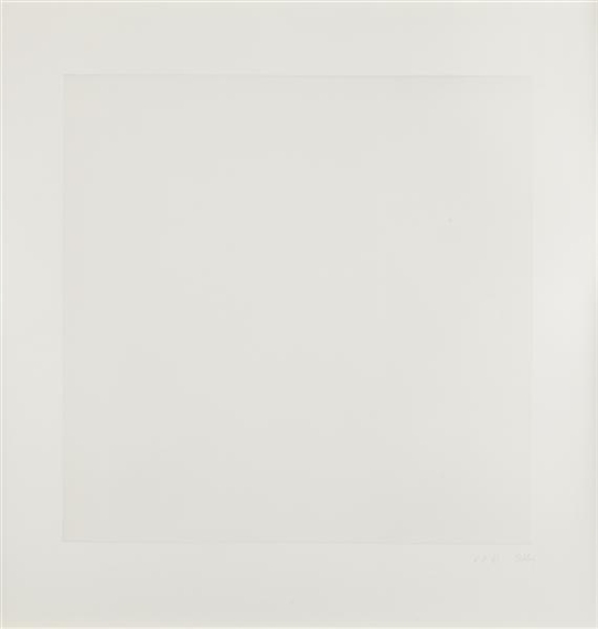 Second Curve series: Gray Variation, 1975 - Ellsworth Kelly