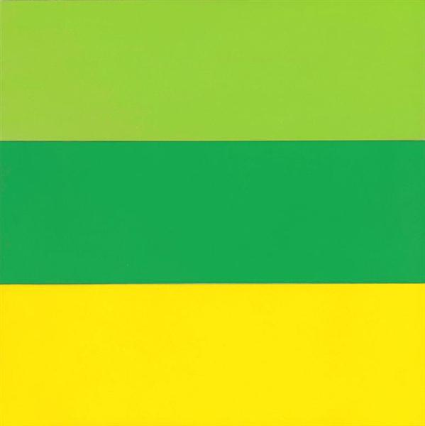 Train Landscape, 1953 - Ellsworth Kelly
