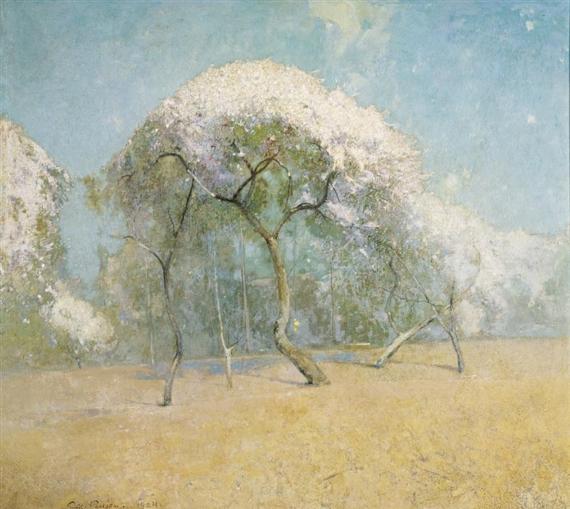 Spring Landscape, 1904 - Emil Carlsen