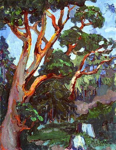Arbutus Tree, 1922 - Emily Carr