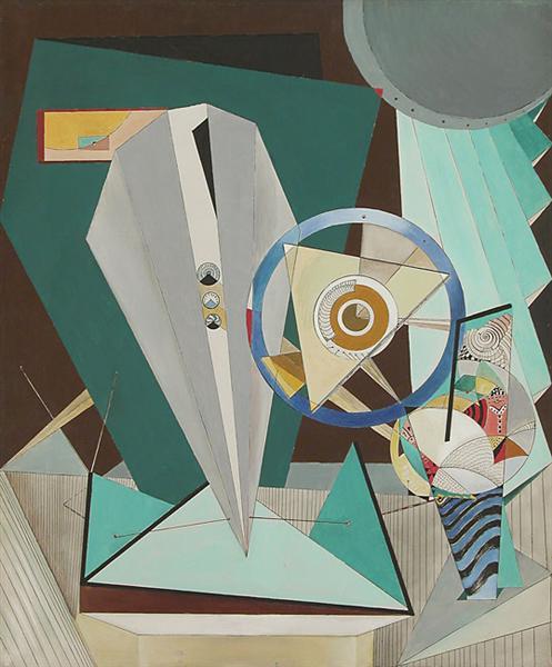 The Study of Dynamisme et Cinetisme, 1948 - Enrico Donati