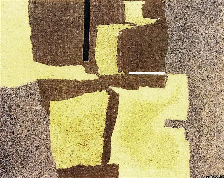 Apparizione cosmica II, 1955 - Enrico Prampolini
