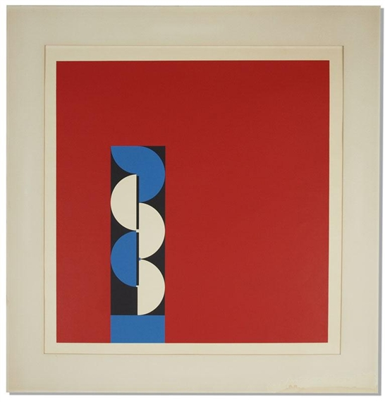 Red Comp, 1968 - Erich Buchholz