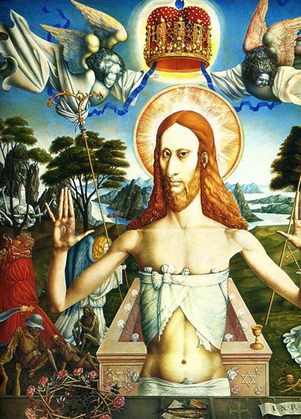 Christ, c.1965 - Ernst Fuchs