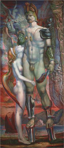 oeuvre d' Ernst FUCHS Académie des arts visionnaires VIENNE