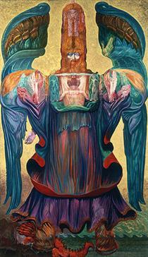 THE ANGEL OF HISTORY - Ernst Fuchs
