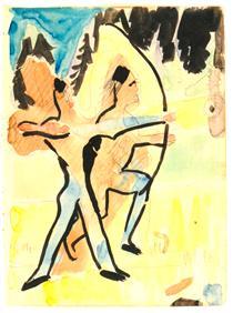 Archer at Wildboden - Ernst Ludwig Kirchner
