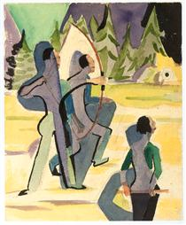 Archer - Ernst Ludwig Kirchner