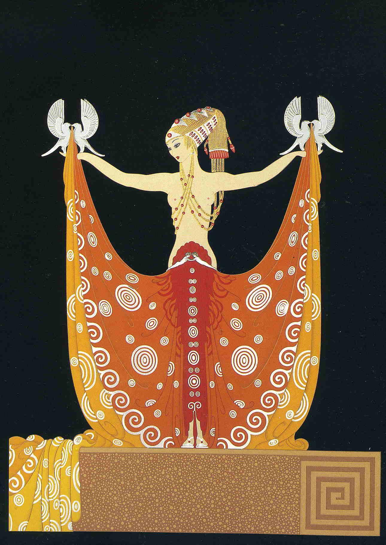Venus erte encyclopedia of visual arts for Art deco artists list