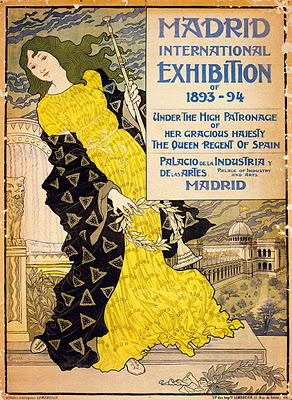 Madrid International Exposition - Eugène Grasset