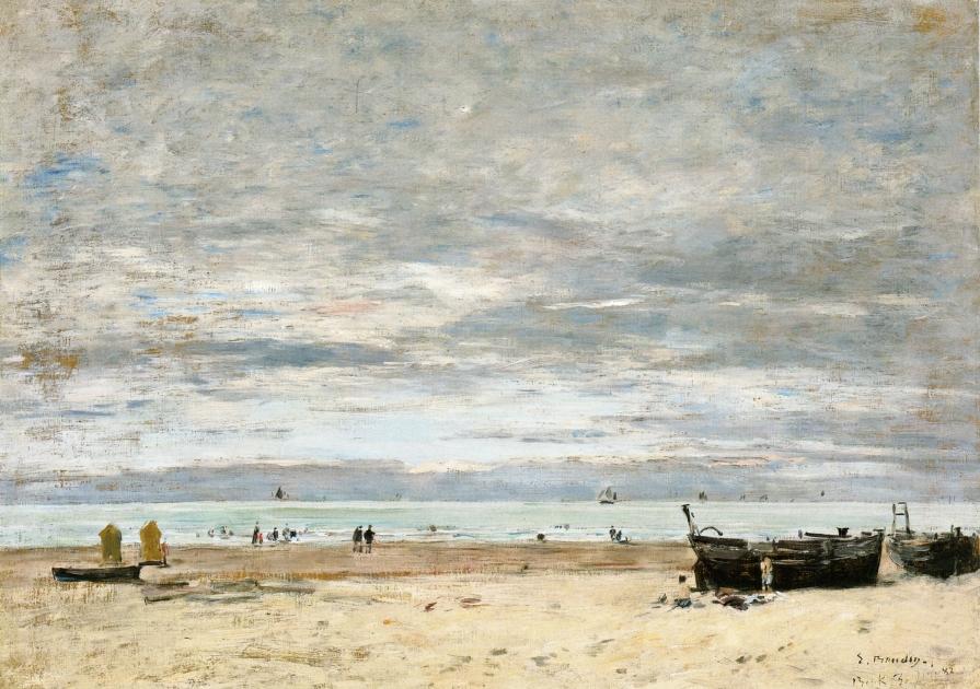 Berck, The Beach at Low Tide, 1882