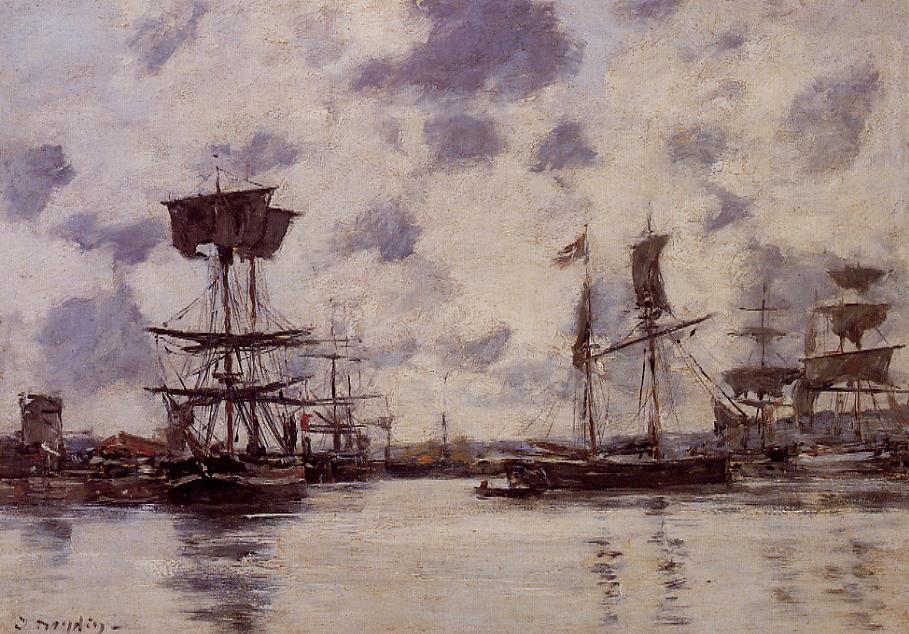 Sailing Boats at Anchor, 1883
