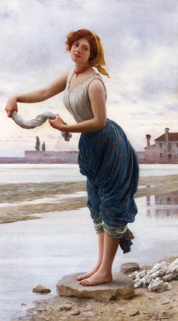 Eugene de Blaas - Page 2 The-lavender