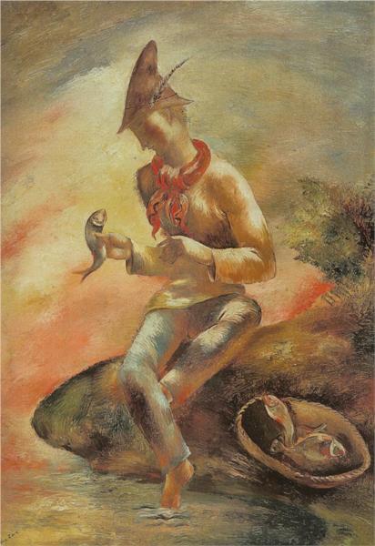 Fisherman, 1924 - Eugeniusz Zak