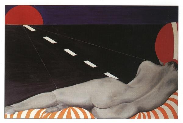 Auto stop, 1966 - Evelyne Axell