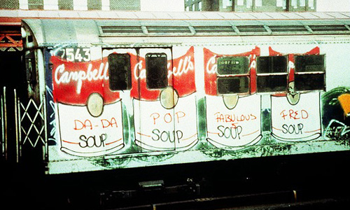 Soup Train, 1981 - Fab 5 Freddy