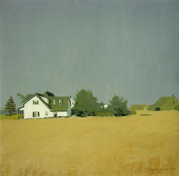 Wheat, 1960 - Fairfield Porter