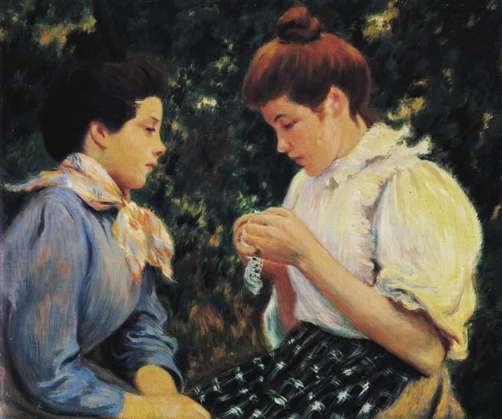 Crochet lesson - Federico Zandomeneghi