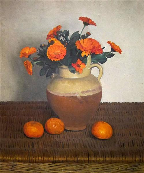 Marigolds and Tangerines, 1924 - Felix Vallotton